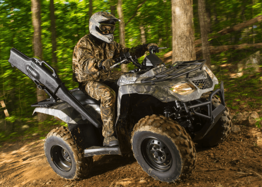 2017 Suzuki KingQuad 400ASi Camo in Johnstown, Pennsylvania