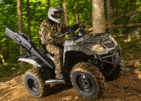 2017 Suzuki KingQuad 400ASi Camo in Gonzales, Louisiana