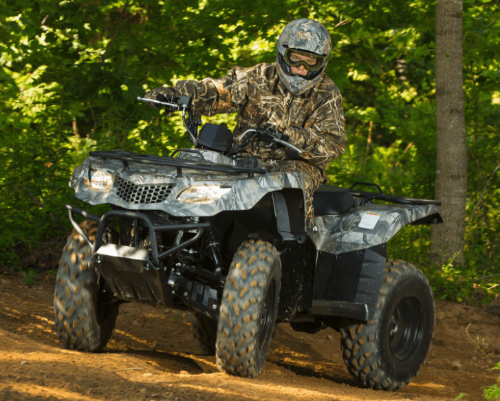 2017 Suzuki KingQuad 400ASi Camo in Carol Stream, Illinois