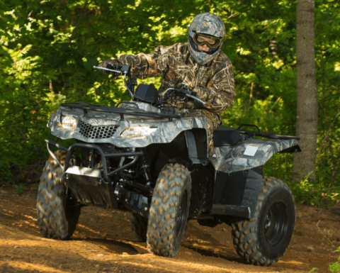 2017 Suzuki KingQuad 400ASi Camo in Rock Falls, Illinois