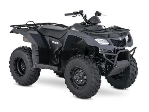 2017 Suzuki KingQuad 400ASi Special Edition in Francis Creek, Wisconsin