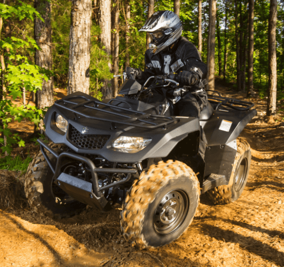 2017 Suzuki KingQuad 400ASi Special Edition in Rock Falls, Illinois