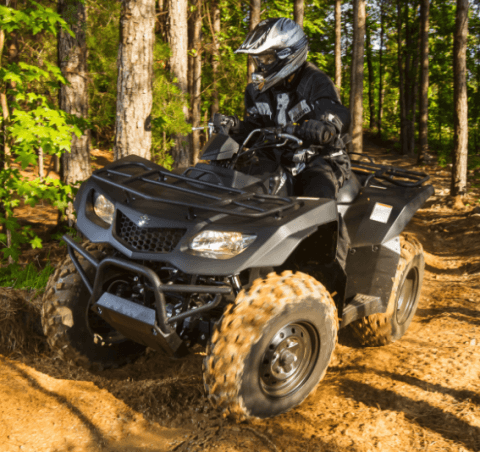 2017 Suzuki KingQuad 400ASi Special Edition in Phillipston, Massachusetts