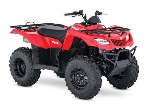 2017 Suzuki KingQuad 400FSi in Wilkes Barre, Pennsylvania