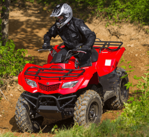 2017 Suzuki KingQuad 400FSi in Gonzales, Louisiana