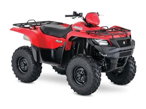 2017 Suzuki KingQuad 500AXi in Hickory, North Carolina