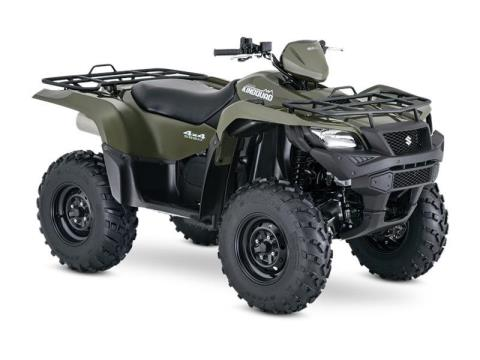 2017 Suzuki KingQuad 500AXi in Francis Creek, Wisconsin