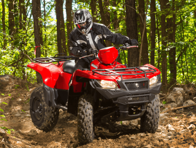 2017 Suzuki KingQuad 500AXi Camo in Clarence, New York