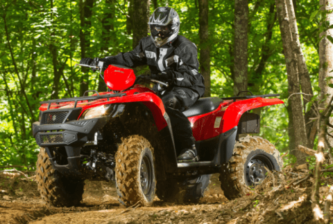 2017 Suzuki KingQuad 500AXi Camo in Van Nuys, California