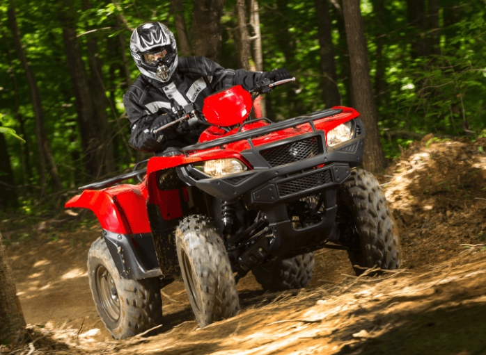 2017 Suzuki KingQuad 500AXi Camo in Francis Creek, Wisconsin