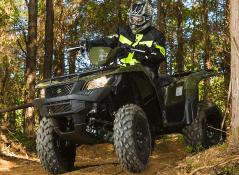 2017 Suzuki KingQuad 500AXi Power Steering in Mechanicsburg, Pennsylvania