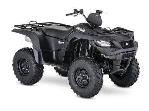 2017 Suzuki KingQuad 500AXi Power Steering Special Edition in Francis Creek, Wisconsin