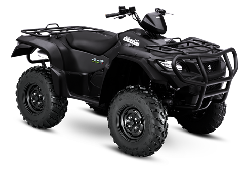 2017 Suzuki KingQuad 500AXi Power Steering Special Edition with Rugged Package in Sacramento, California