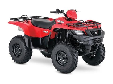 2017 Suzuki KingQuad 750AXi in Francis Creek, Wisconsin