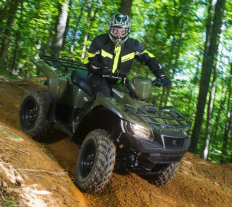 2017 Suzuki KingQuad 750AXi in Greenville, North Carolina