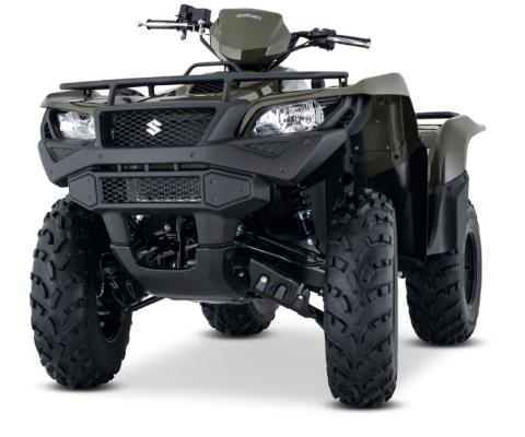 2017 Suzuki KingQuad 750AXi in West Bridgewater, Massachusetts