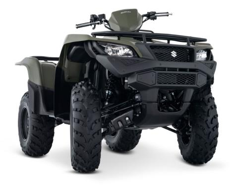 2017 Suzuki KingQuad 750AXi in Coloma, Michigan