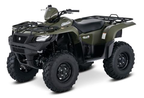 2017 Suzuki KingQuad 750AXi in Sanford, North Carolina