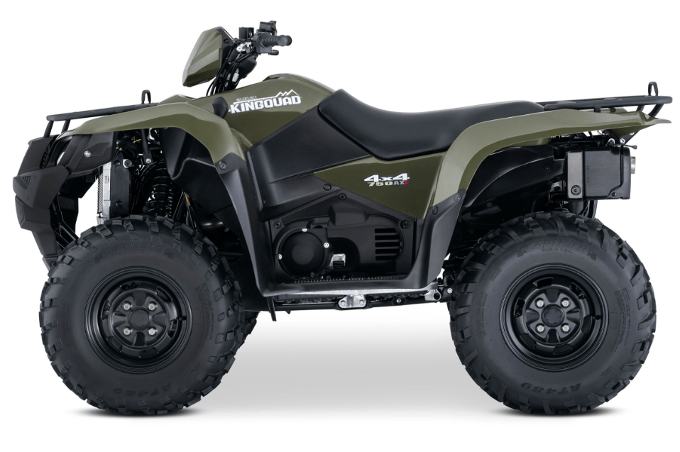 2017 Suzuki KingQuad 750AXi in Merced, California