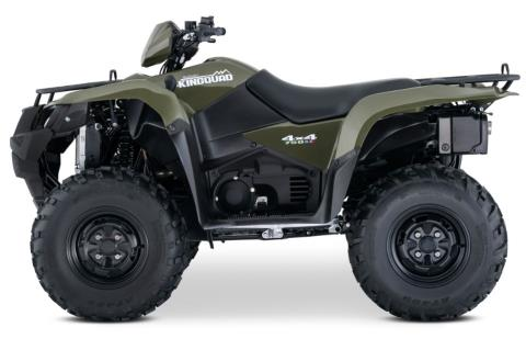2017 Suzuki KingQuad 750AXi in Visalia, California