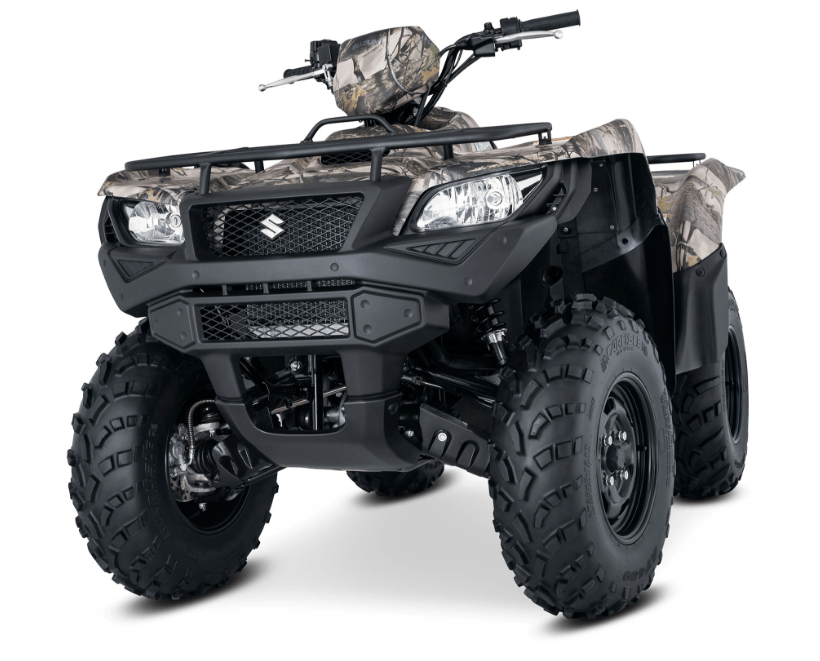 2017 Suzuki KingQuad 750AXi Camo in Carol Stream, Illinois