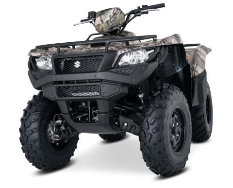 2017 Suzuki KingQuad 750AXi Camo in Winterset, Iowa