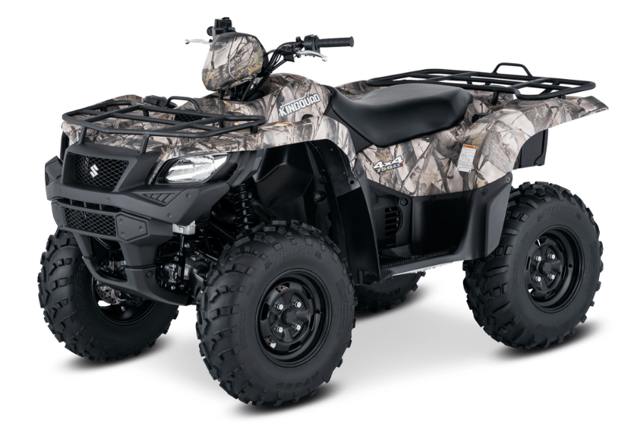 2017 Suzuki KingQuad 750AXi Camo in Miami, Florida