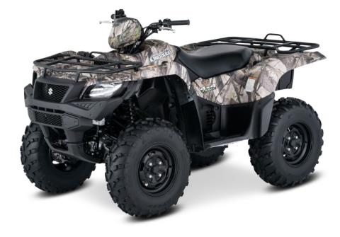 2017 Suzuki KingQuad 750AXi Camo in Clarence, New York