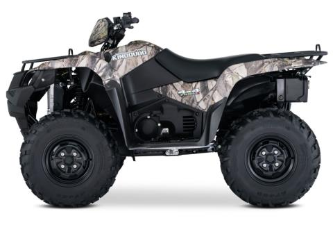 2017 Suzuki KingQuad 750AXi Camo in Kingsport, Tennessee