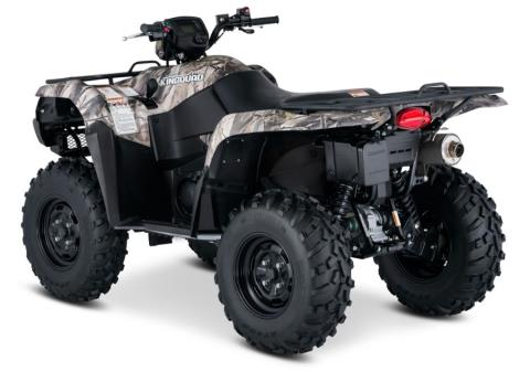 2017 Suzuki KingQuad 750AXi Camo in Francis Creek, Wisconsin
