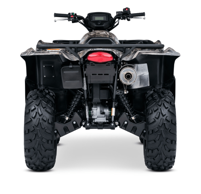2017 Suzuki KingQuad 750AXi Camo in Albemarle, North Carolina