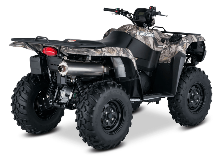 2017 Suzuki KingQuad 750AXi Camo in Van Nuys, California