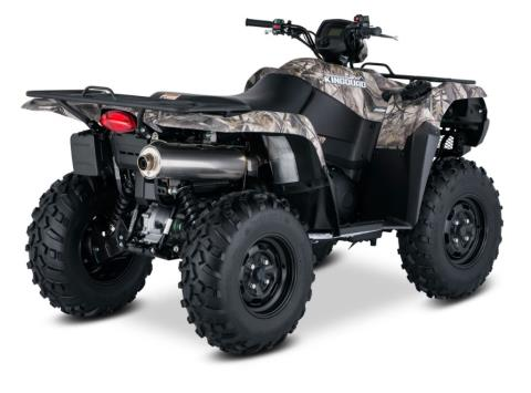 2017 Suzuki KingQuad 750AXi Camo in Mechanicsburg, Pennsylvania