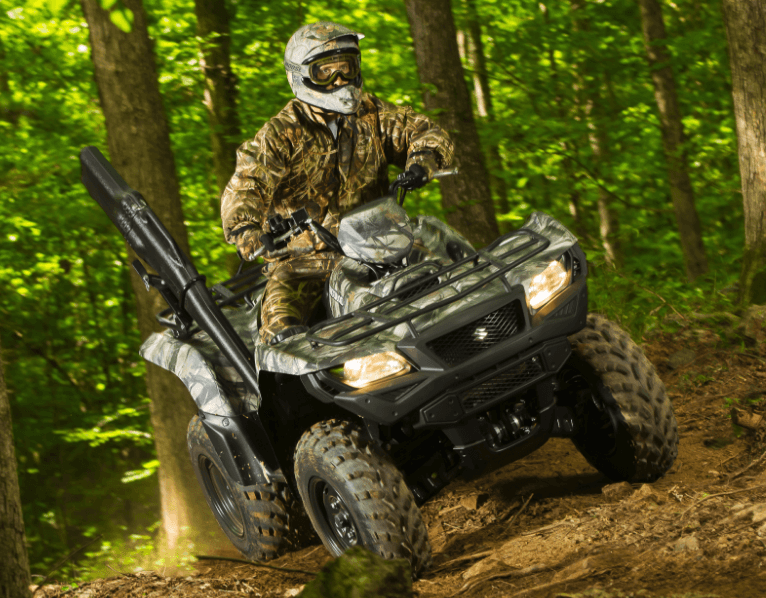 2017 Suzuki KingQuad 750AXi Camo in Phillipston, Massachusetts