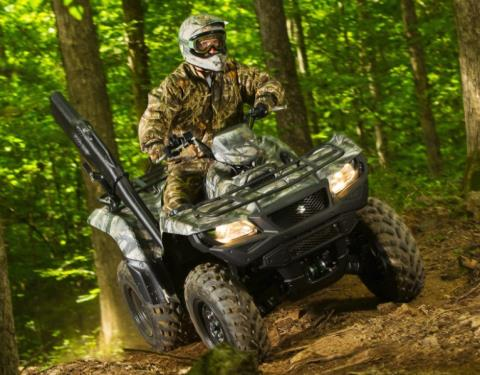 2017 Suzuki KingQuad 750AXi Camo in Coloma, Michigan