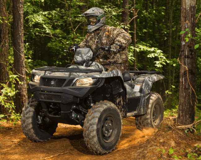 2017 Suzuki KingQuad 750AXi Camo in Woodinville, Washington