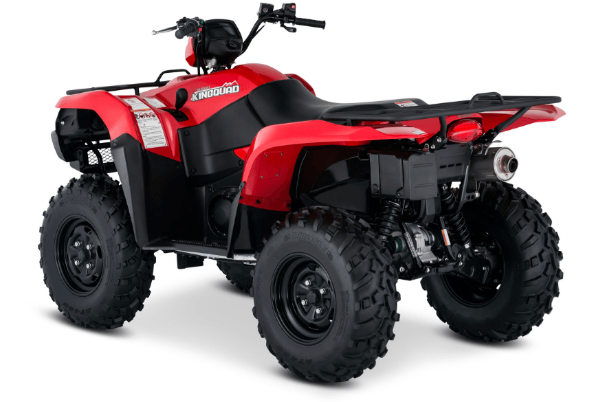 2017 Suzuki KingQuad 750AXi Power Steering in Greenville, North Carolina