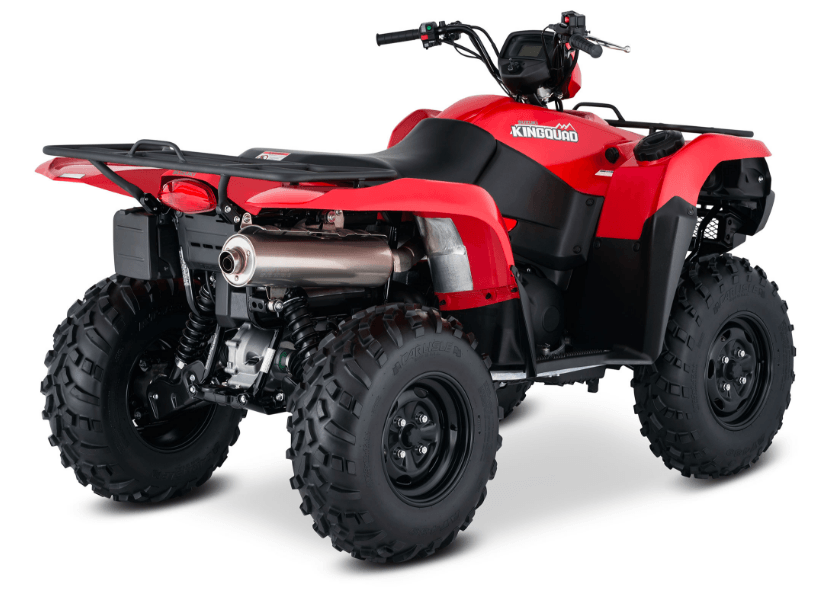 2017 Suzuki KingQuad 750AXi Power Steering in Fond Du Lac, Wisconsin