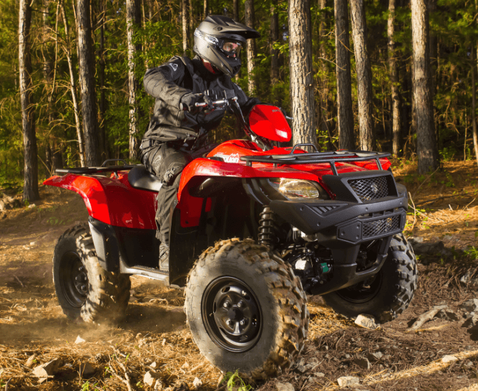 2017 Suzuki KingQuad 750AXi Power Steering in Rock Falls, Illinois