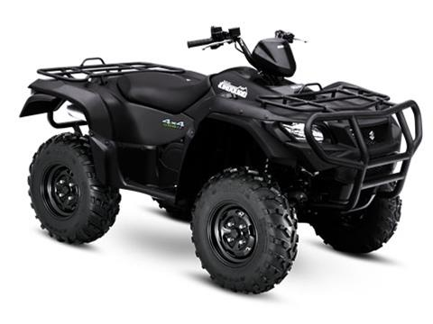 2017 Suzuki KingQuad 750AXi Power Steering Special Edition with Rugged Package in Fond Du Lac, Wisconsin