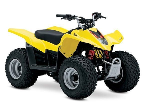 2017 Suzuki QuadSport Z50 in Baldwin, Michigan