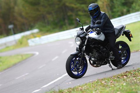 2017 Suzuki SV650 in Baldwin, Michigan
