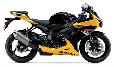 2017 Suzuki GSX-R600 in West Bridgewater, Massachusetts