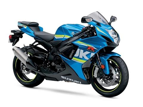 2017 Suzuki GSX-R600 in Hickory, North Carolina