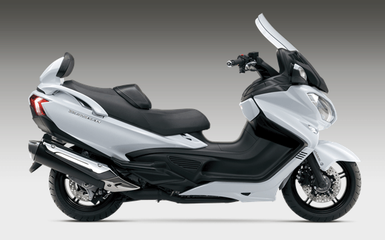 2017 Suzuki Burgman 650 Executive in Mount Vernon, Ohio