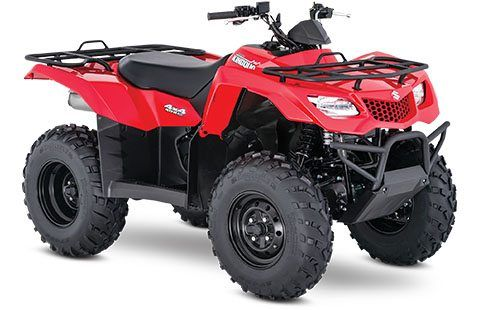 2018 Suzuki KingQuad 400ASi in Fairfield, Illinois