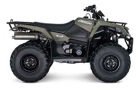 2018 Suzuki KingQuad 400ASi in Belleville, Michigan
