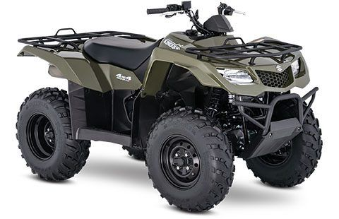 2018 Suzuki KingQuad 400ASi in Jonestown, Pennsylvania
