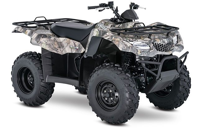 2018 Suzuki KingQuad 400ASi in Hancock, Michigan
