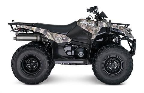 2018 Suzuki KingQuad 400ASi Camo in Oak Creek, Wisconsin